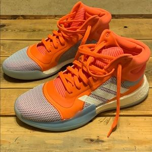 Adidas men's 11 marquee boost high top shoes